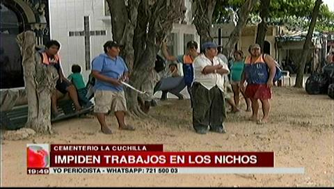 Alcaldía impide refacciones en nichos del cementerio La Cuchilla, propietarios deben impuestos