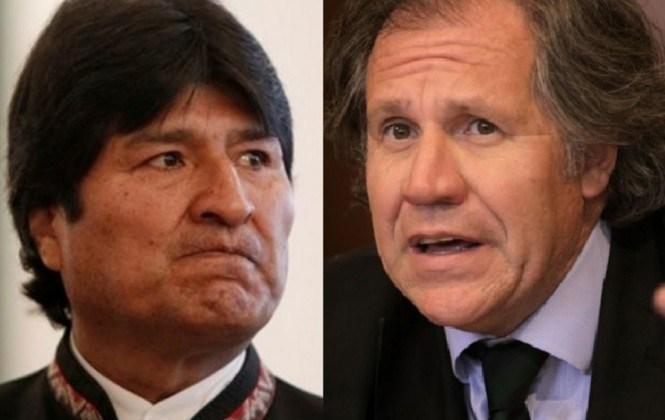 """Evo acusa a la OEA de ser refugio de """"vendepatrias"""" y de haberse convertido en"""