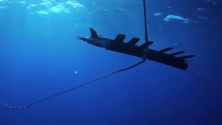 Las pruebas de robots SHARC durante los ejercicios Unmanned Warrior