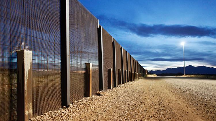 La frontera con México vista desde Arizona, EE.UU., 29 de marzo de 2013