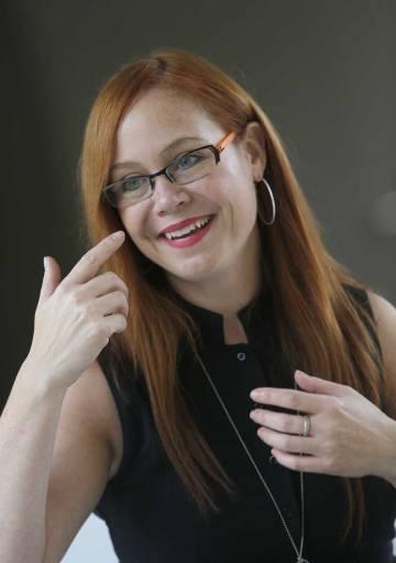 La investigadora canadiense Dana Small