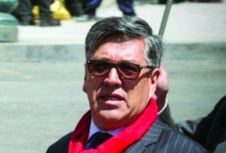 Oscar Heredia, UMSA, rector.
