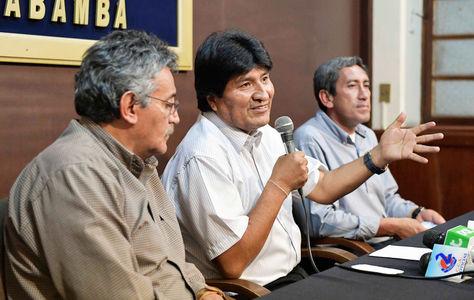 Morales en Cochabamba