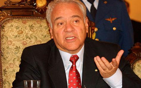Gonzalo Sánchez de Lozada, en 2003, antes de renunciar a la presidencia de la República. Foto: La Razón- archivo