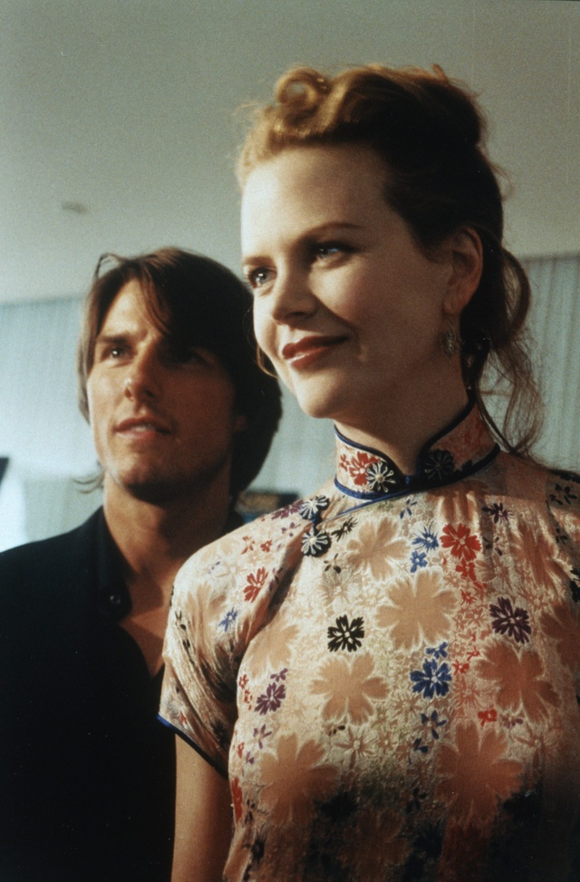 Tom Cruise y Nicole Kidman en 1999.