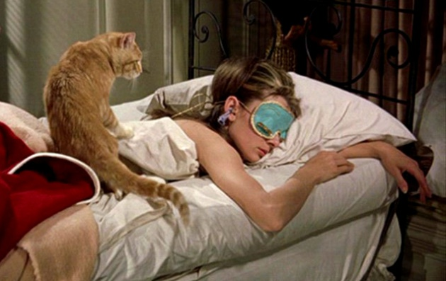 'Desayuno con diamantes' (y un gato)
