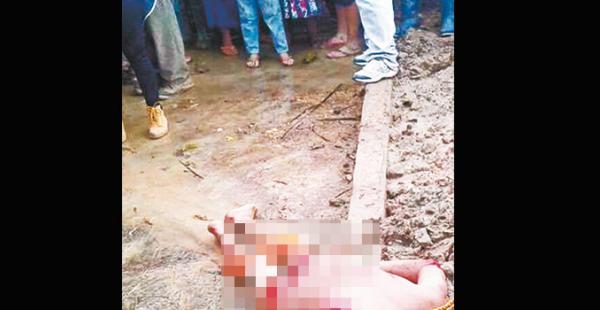 El cuerpo del presunto abusador fue trasladado a Palos Blancos