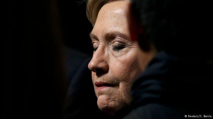 USA Hillary Clinton Rede nach Wahlniederlage (Reuters/C. Barria)