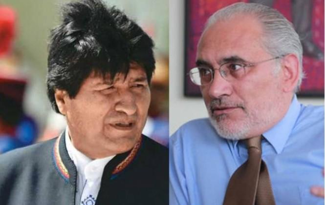 Otra encuesta da un virtual empate entre Evo Morales y Carlos Mesa