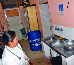Agua: emergencia sanitaria en la zona Sur y ladera Este