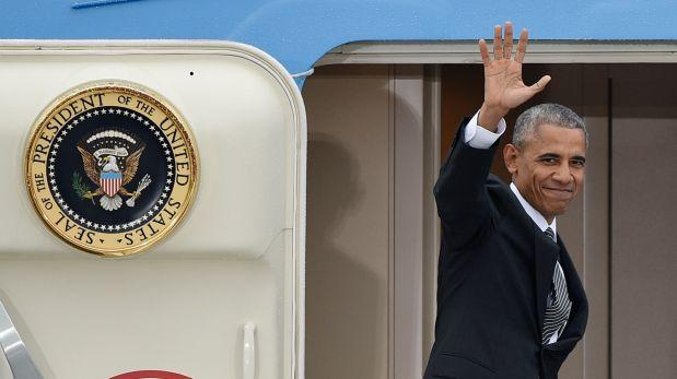 Barack Obama deja Berlín y parte rumbo a Lima