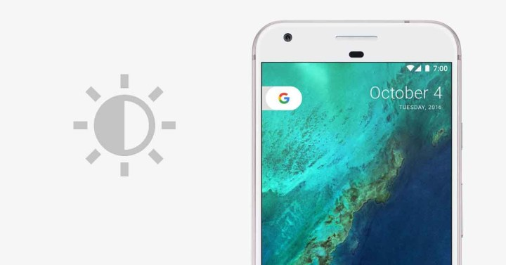 pantalla del Google Pixel