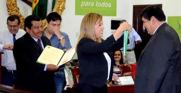 La presidenta del Concejo destacó la labor profesional de Rosas