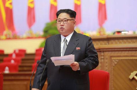 el líder supremo de Corea del Norte, Kim Jong-Un. Foto: www.ibtimes.com