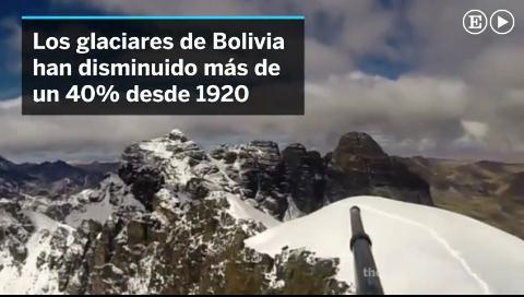 El deshielo de los glaciares de Bolivia podría provocar graves inundaciones