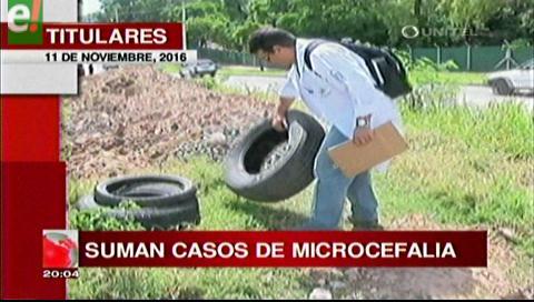 Titulares de TV: Aumentan los casos de microcefalia Bolivia