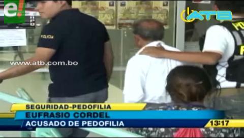 Anciano acusado de pedofilia y pornografía es enviado a El Abra