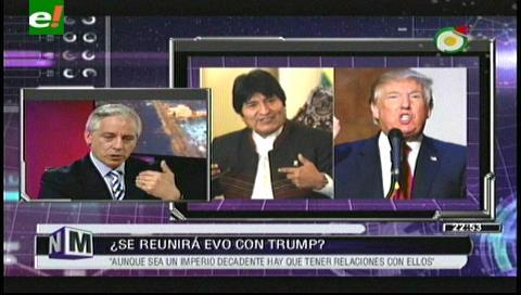 García: Es posible tener relaciones con EEUU si el Gobierno de Trump no conspira