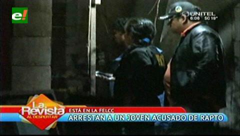Felcc detiene a un sujeto por presunto rapto de menor en la zona de La Morita