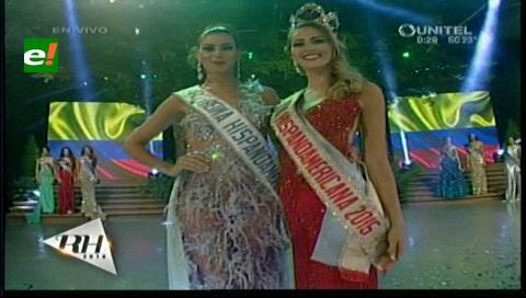Reina Hispanoamericana 2016 es Miss Colombia, María Camila Soleibe