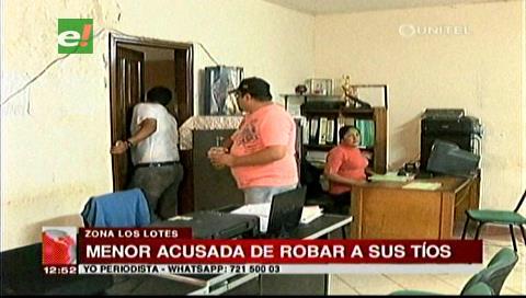 La Policía detiene a una menor de edad acusada de robar en la casa de sus tíos