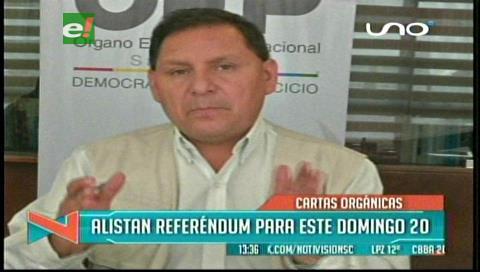 Las prohibiciones para el referendo del domingo