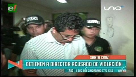 Detienen a un director acusado de violación