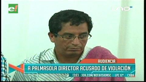 Envían a Palmasola a director acusado de abusar a menores