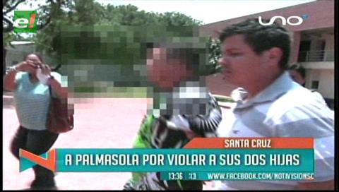 Envían a Palmasola a padre acusado de abusar a sus hijas
