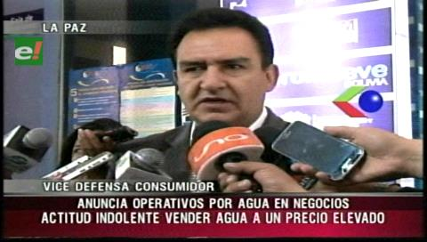 La Paz: Defensa del Consumidor alista control para evitar agio en agua