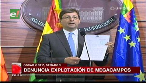 Senador Ortiz pide investigar sobreexplotación en campos hidrocarburíferos
