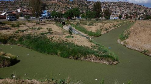 ALALAY Los canales de ingreso de aguas residuales a la laguna Alalay. | José Rocha