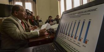 Anteproyecto de ley antidroga despenaliza consumo en Bolivia