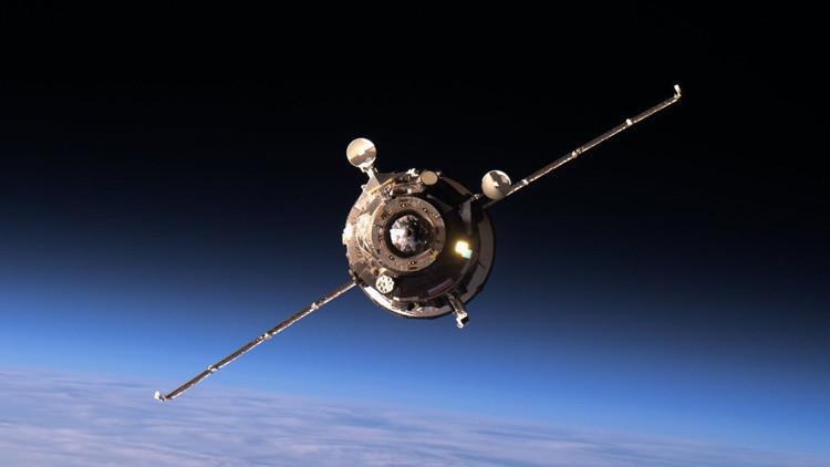 La nave espacial rusa Progress MS-04.