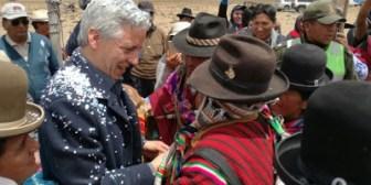 Gente que trabajaba en USAID se opone a las represas, según el vicepresidente