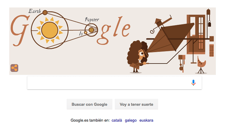 Google hace un doodle ¿a la velocidad de la luz?