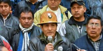 Central Obrera Boliviana deja Conalcam y dice NO a repostulación de Evo