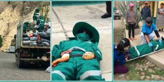 Gobierno critica a Revilla por problema de la basura y situación de los trabajadores de 'La Paz Limpia'