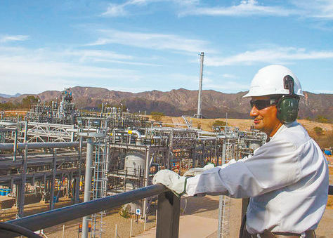 Planta de procesamiento de gas natural en el bloque Caipipendi.