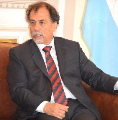 NORMANDO ÁLVAREZ, EMBAJADOR DE ARGENTINA EN BOLIVIA.
