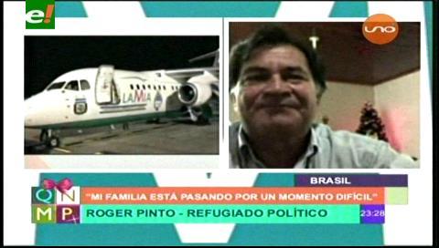 Roger Pinto: Gobierno politizó el caso LaMia