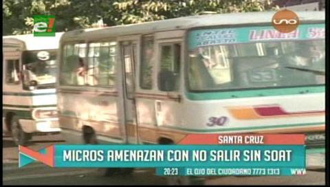 Transportistas irán al paro si Univida no les da SOAT