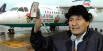 """Evo y LaMia, la aerolínea que """"le metió nomás"""""""