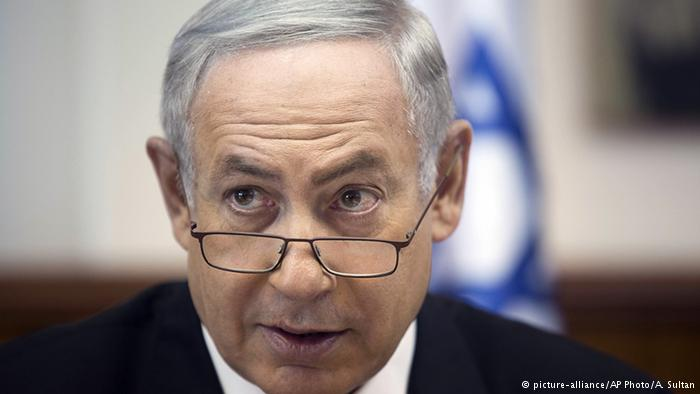 Israel Ministerpräsident Benjamin Netanjahu (picture-alliance/AP Photo/A. Sultan)