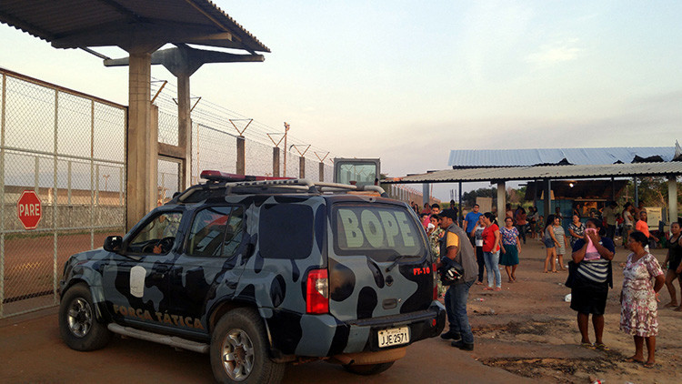 Mueren al menos 33 presos en un motín en la cárcel más grande del norte de Brasil