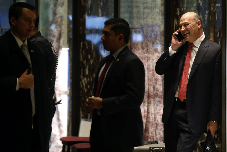 Foto: Gary Cohn, presidente de Goldman Sachs y miembro del gabinete de Trump. (Lucas Jackson / Reuters)