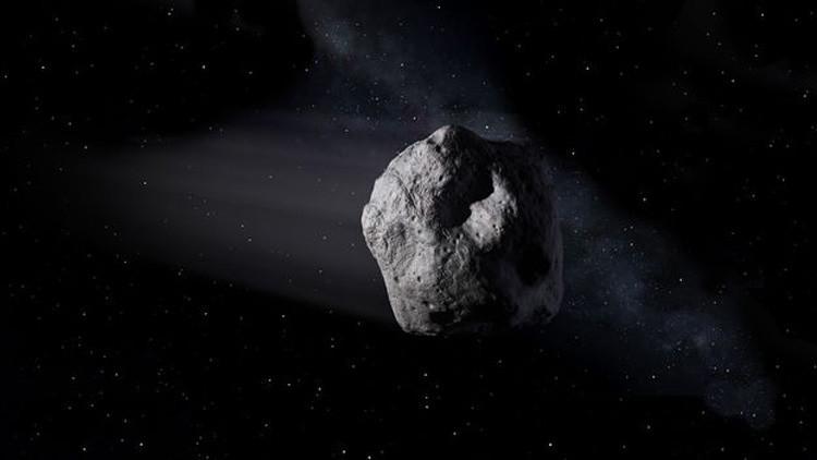 Un asteroide de gran tamaño