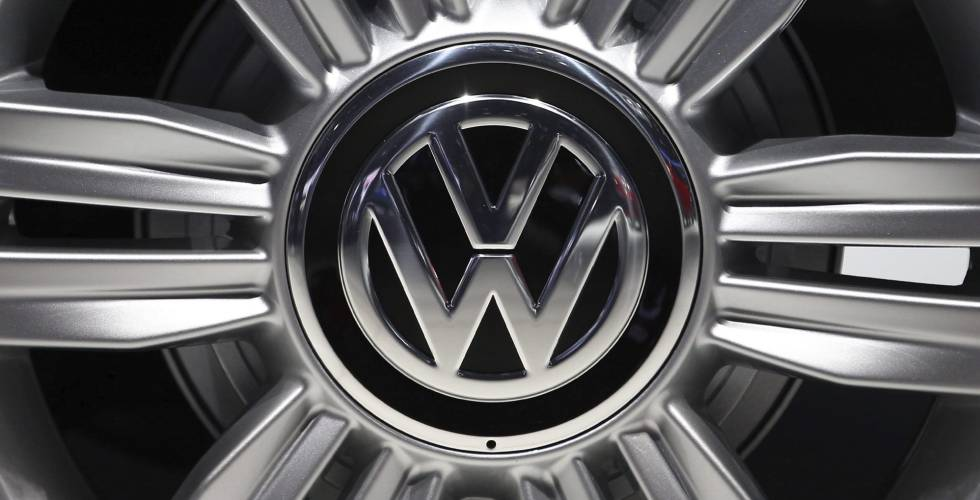 Logotipo del fabricante de automóviles alemán Volkswagen