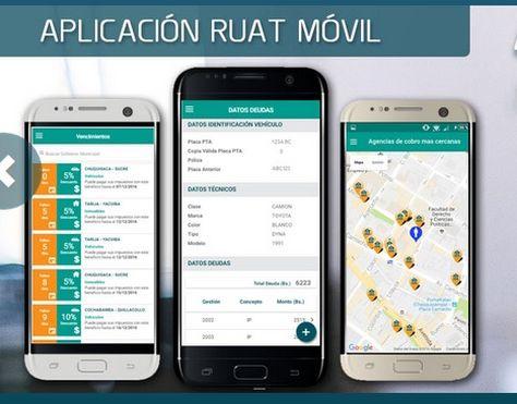 La aplicación del RUAT permite a los contribuyentes acceder a información sobre sus vehículos, inmuebles, deudas tributarias, inspección vehicular e infracciones de tránsito, entre otros.