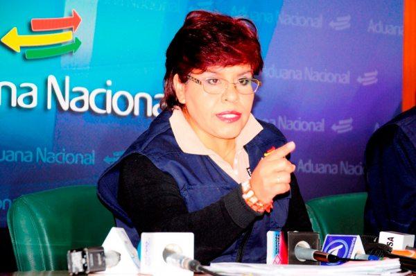 MARLENE ARDAYA, PRESIDENTA DE ANB, PRESTÓ AMPLIO INFORME DE GESTIÓN. AYER.